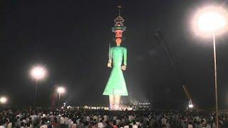 World's tallest ravan  || Dussehra special ||
