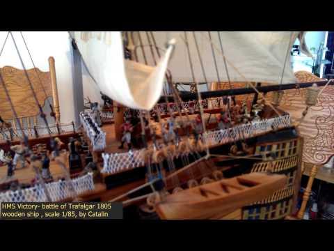 HMS Victory, battle of Trafalgar, 1805