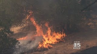 Chemicals Used In Fighting Fires Could Mix With Other Chemicals In Soil To Cause Health Problems