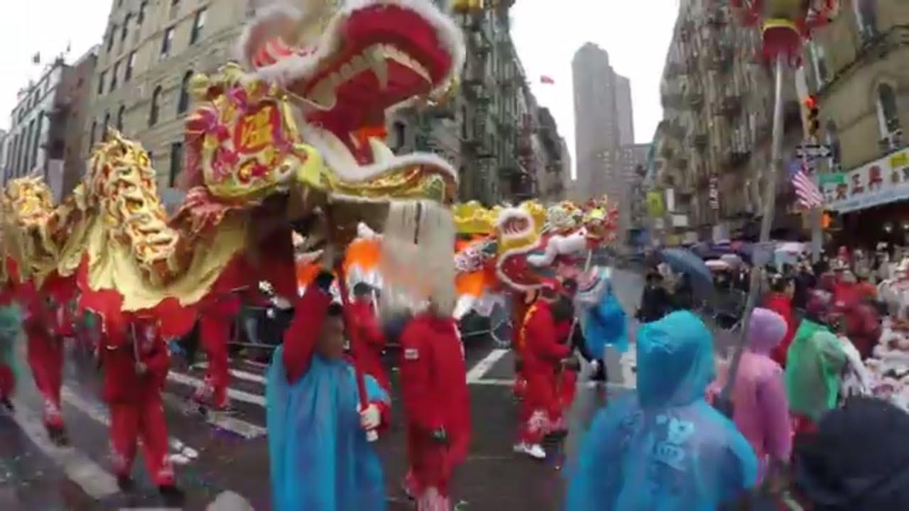 Chinese new year chinatown nyc