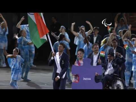 NPC INDIA - Rio 2016 Paralympic Games Opening Ceremony