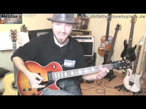 Powerchord Anfängerlesson + 2 Easy Songs: Highway to hell / Smoke on the water