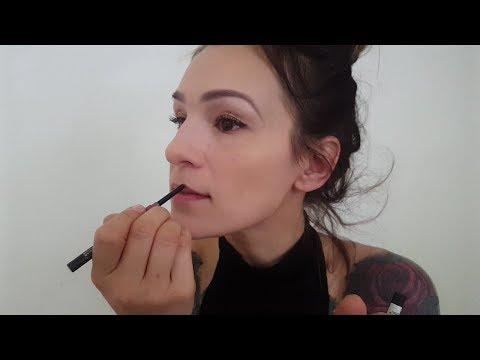 ASMR * Doing My Makeup * (real makeup sounds -layered-) thumbnail