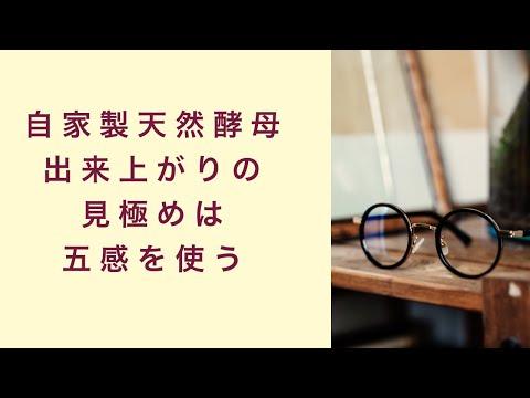 【自家製天然酵母】出来上がりの見極めは五感をフルに使う フルーツ酵母 自家製天然酵母 パン教室 教室開業 大阪 奈良 東京 福岡 名古屋