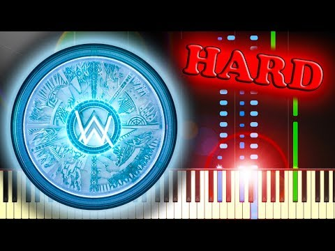 ALAN WALKER - THE SPECTRE - Piano Tutorial