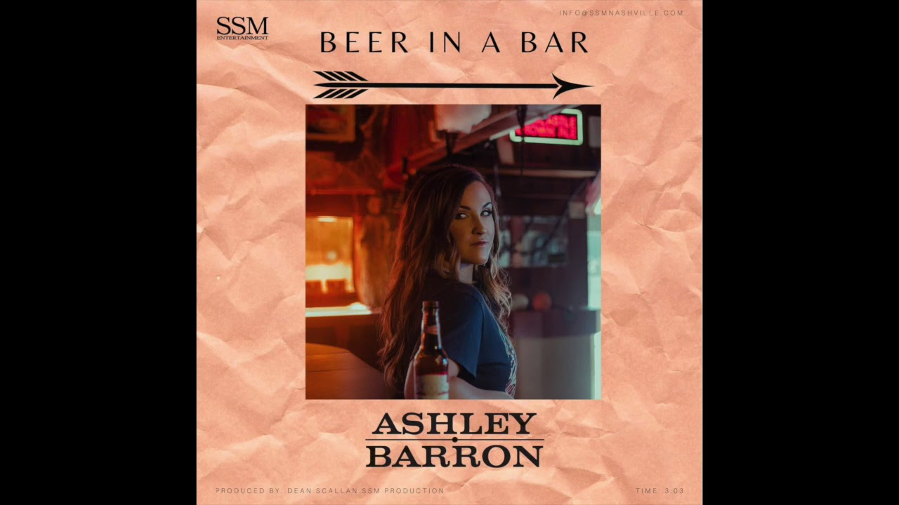 Ashley Barron - Beer In A Bar (Official Audio)