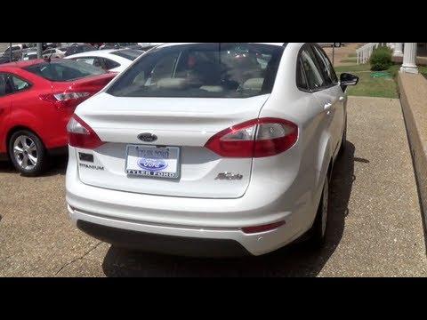 2014 Ford Fiesta Titanium Sedan Walkaround