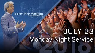 Monday Night's Miracle Healing Service in Aliso Viejo, CA from July 23, 2018!