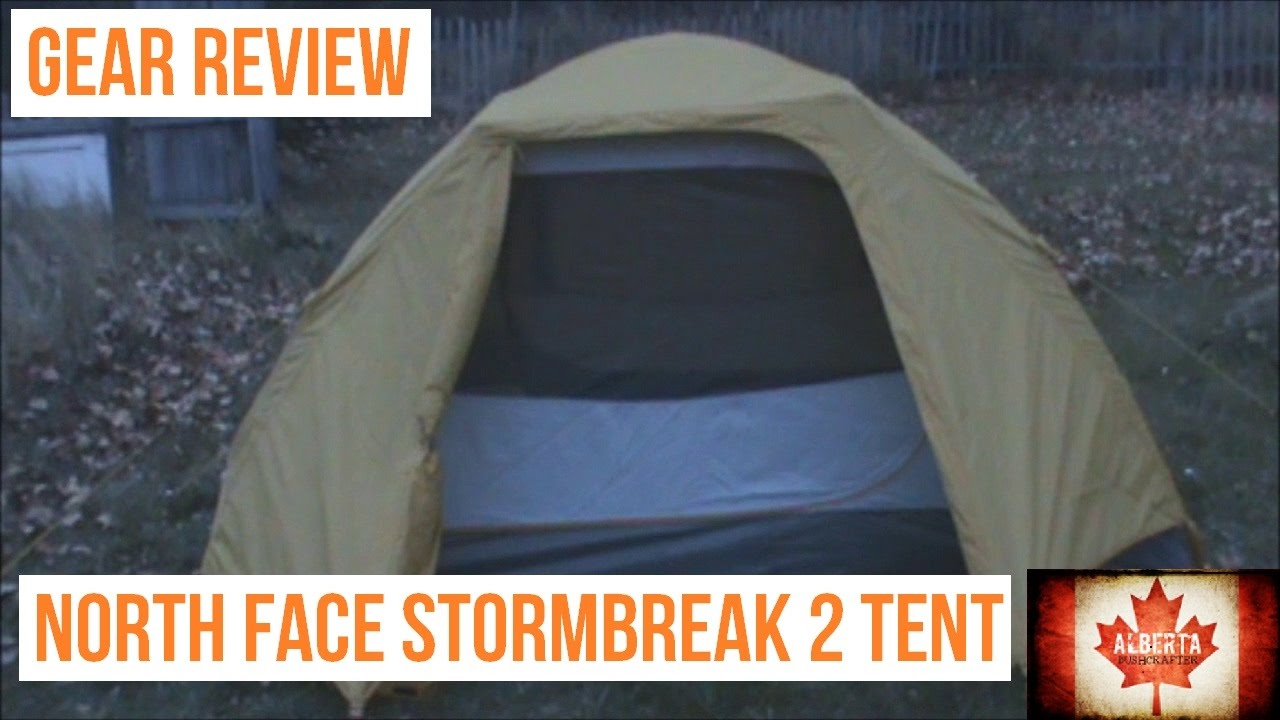 Gear Review The North Face Stormbreak 2 Tent & Gear Review: The North Face Stormbreak 2 Tent - YouTube