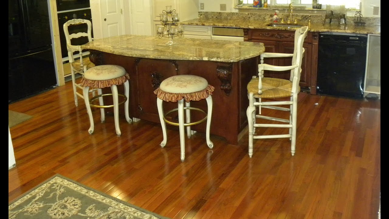 Pros and cons about brazilian cherry flooring youtube for Cherry flooring pros and cons