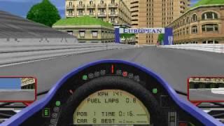 Microprose Grand Prix 2 - Monaco no help hotlap