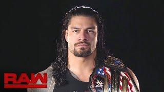 Roman Reigns weiß, welche Albträume ihn bei Hell in a Cell erwarten: Raw, 24. Oktober 2016