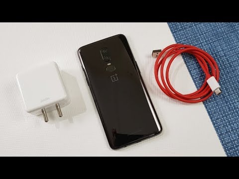 One Plus 6 Battery Charging Test | 0% To 100% | Dash Charging !