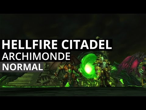 Archimonde Normal - Arcane Mage POV