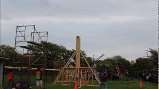 Floating Arm Trebuchet Iit Pumpkin Launch
