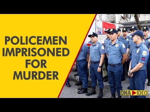 Philippines policemen imprisoned for murder of teen in Duterte's drug war