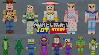Minecraft Toy Story Mash Up Pack Available Now! Let's Explore!