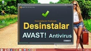 4 Pasos para Desinstalar Avast! Antivirus o Internet Security 2013