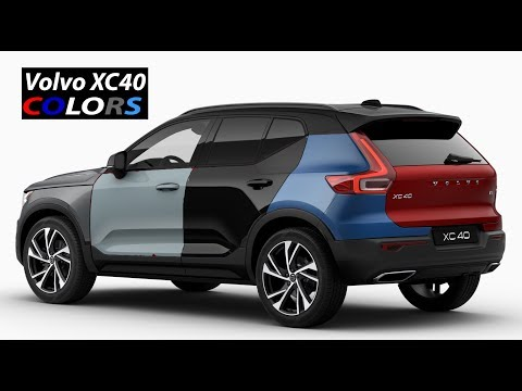 2018 Volvo XC40 COLORS