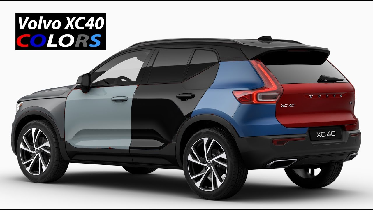 2018 Volvo Xc40 Colors Youtube