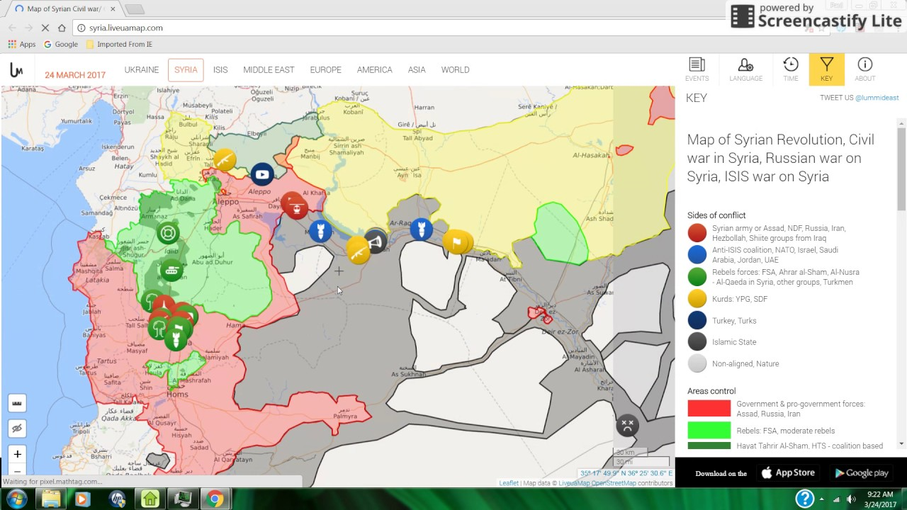 Euphrates River Drying Up Trend Update: Fighting...