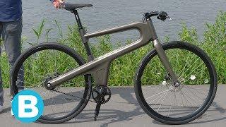 Jongensdroom komt uit: designfiets helemaal in Nederland gemaakt (en hij fietst lekker)