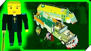 СВЯЩЕННИК ПРОТИВ ЗОМБИ - Игра ZIC  Zombies in City # 3 Игры андроид