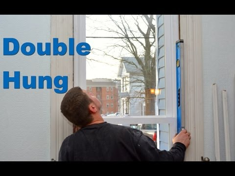 How to install Double Hung Windows