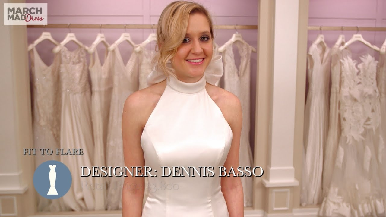 March MadDress: Dennis Basso Fit to Flare - YouTube