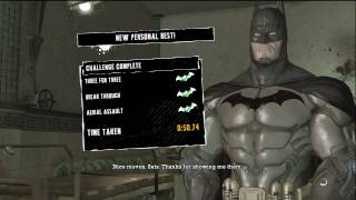 Batman: Arkham Asylum Challenge Silent Knight (EXTREME) #2