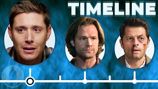 The Simplified Supernatural Timeline Part 2 (Seasons 6-14) | Cinematica