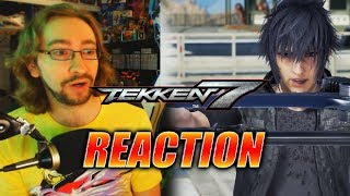 MAX REACTS: Noctis - TEKKEN 7 Gameplay Trailer