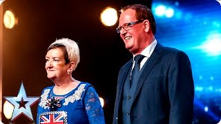 David is crazy in love with Ian and Anne Marshall | Week 3 Auditions | Britain's Got Talent 2016