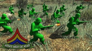 ABLE company ATTACK ! - Green Army Men CHARGE the REDS ! AMOW