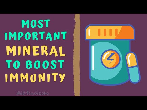 MOST IMPORTANT MINERAL TO BOOST IMMUNITY How to boost immune power naturally