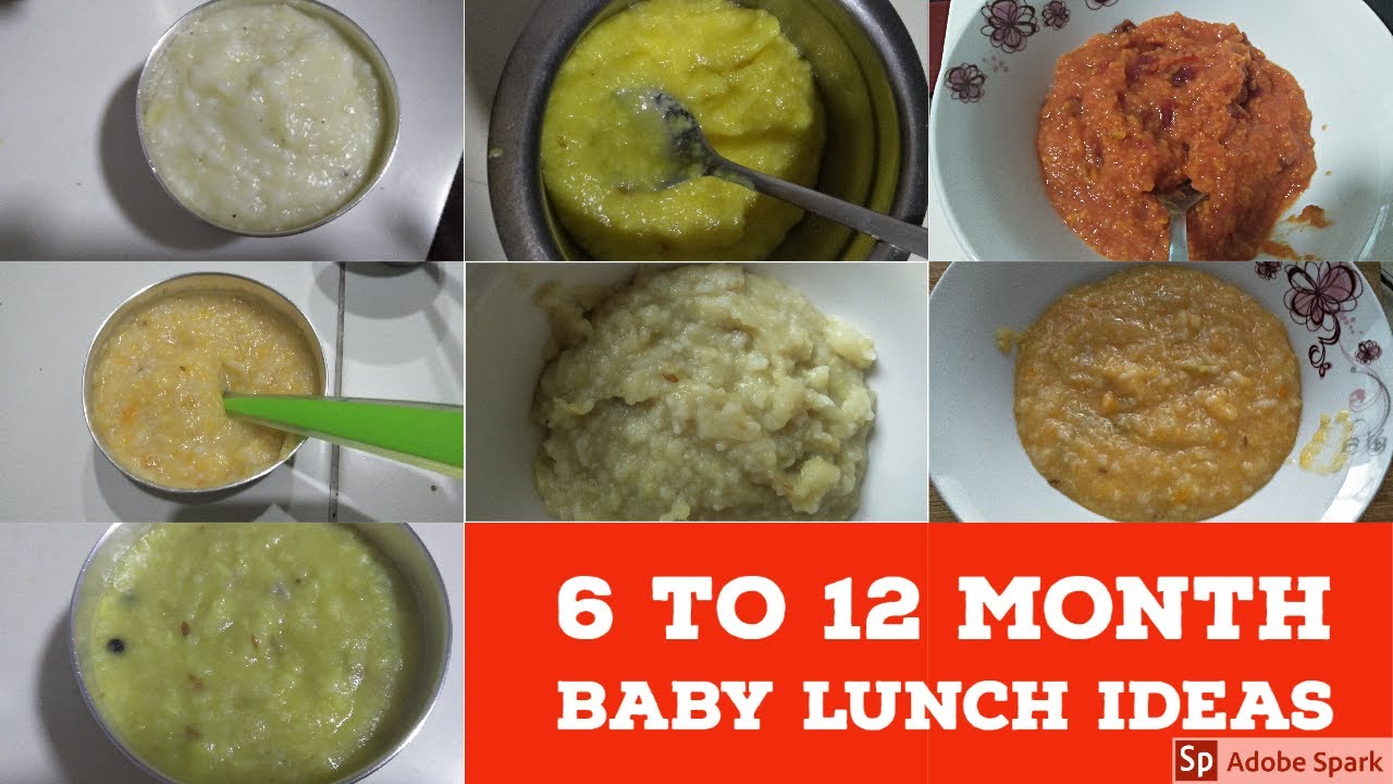 7 WEIGHT GAINING LUNCH RECIPES FOR BABIES IN TAMIL/BABY FOOD RECIPES