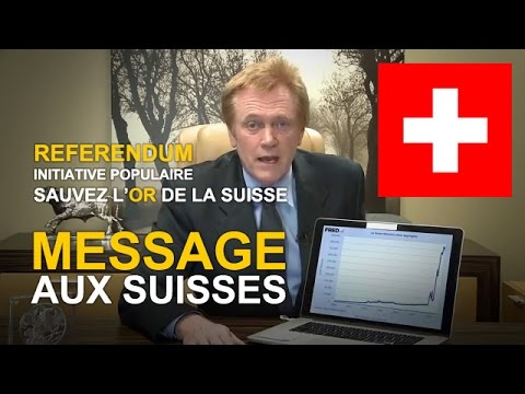 "Initiative ""Sauver l'Or de la Suisse"". Message de Mike Maloney au peuple suisse (VOSTFR)"