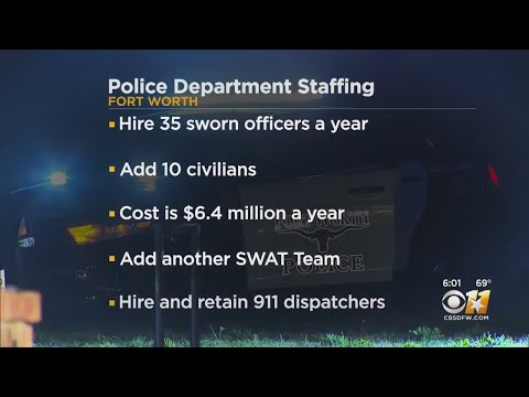 Fort Worth Police Department Needs Thousands More Officers In Next Decade