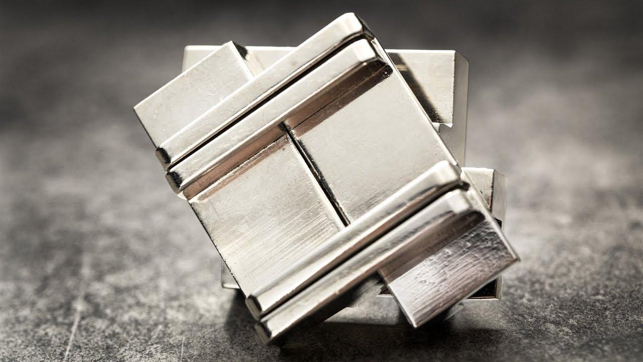 Metallpuzzle Cast Puzzle Rattle Level 4