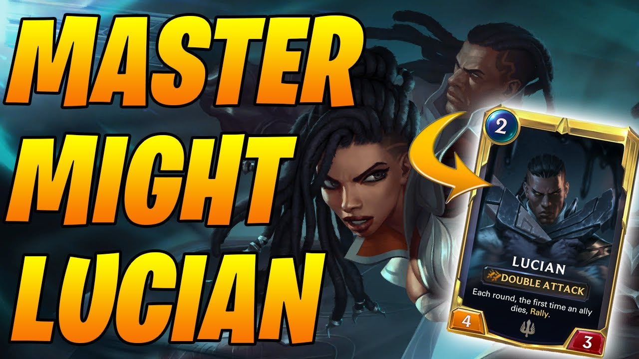Lucian MIGHT Hit Masters! | Legends of Runeterra | Controltheboard