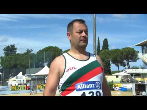 Men's discus throw F42 | final | 2016 IPC Athletics European Championships Grosseto