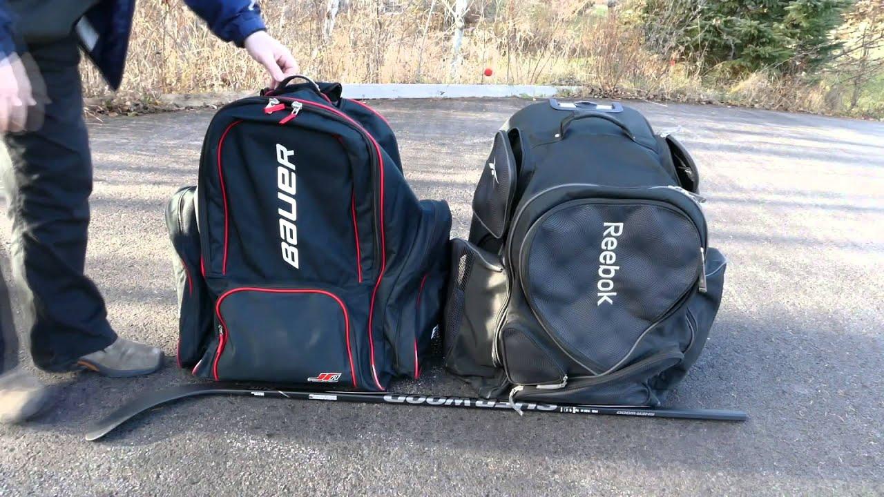 Bauer Toews 19 Wheeled Hockey Bag