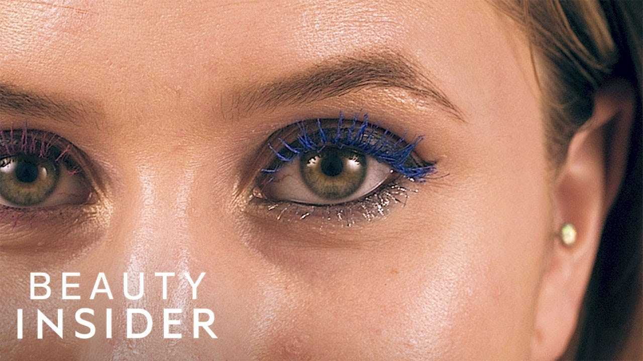 Metallic-Colored Mascara Packs A Bright Punch
