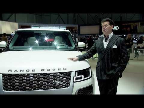 2018 Geneva Motor Show - Gerry McGovern, Chief Design Officer, Land Rover