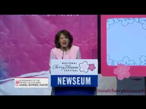 National Cherry Blossom Festival Kick-Off, 3/1/18