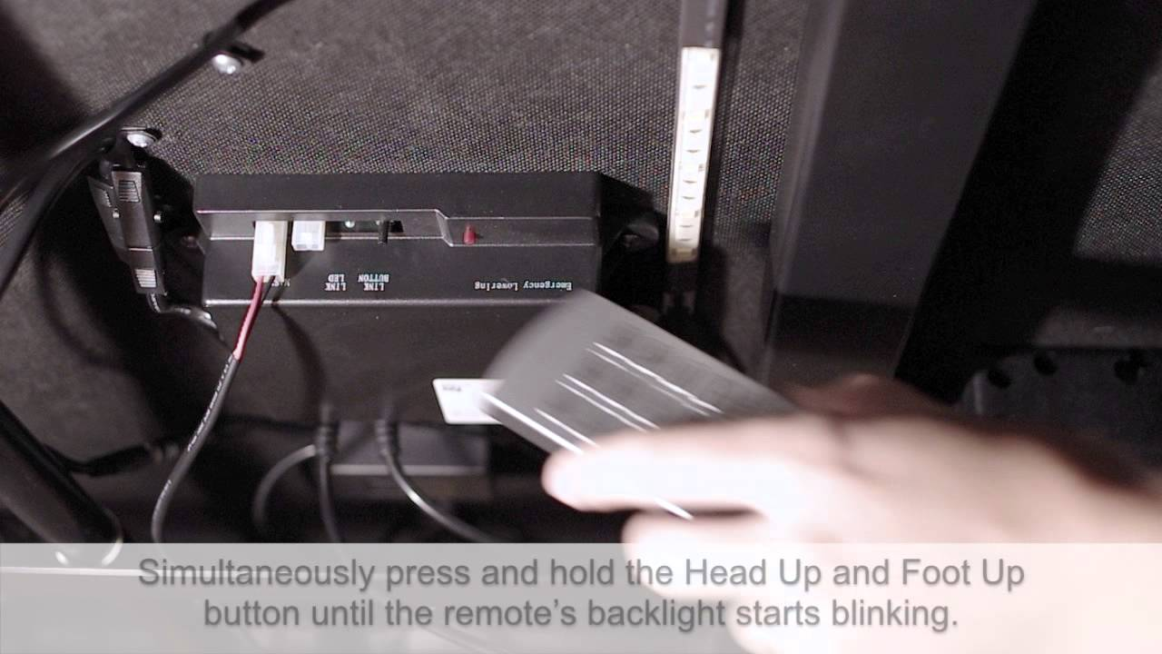 How to link your remote to your Comfort Base - YouTube | Adjustable Bed Wiring Diagram |  | YouTube
