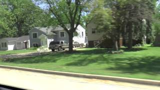 Driving through Suburbs | Royalty Free Stock Footage