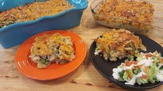 Tuna Noodle Casserole From Scratch - Depression Era Recipe - The Hillbilly Kitchen