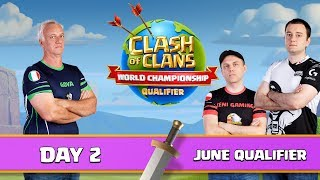 World Championship June Qualifier Day 2 Clash of Clans