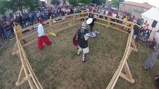 Torneo de duelos Vivar del Cid, julio 2017. Ramón vs Ivan Salcedo.